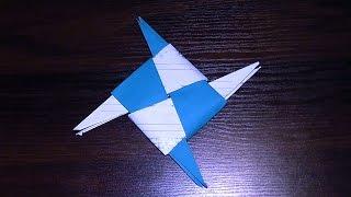 Крута зброя ніндзя з паперу своїми рукамиВ даному відео ми з Вами дізнаємося, як зробити крутий паперовий сюрікен (зірочку ніндзя). Це майстер клас з орігамі! Просто повторюйте за нами! Зірочка зроблена в стародавньому японському паперовому мистецтві орігамі.Опис відео:00:01 Нам знадобиться аркуш паперу для орігамі, або звичайний квадратний листок00:02 Складаємо заготовку2:00 Зробити потрібно 4 таких заготовки2:08 Складаємо зірку ніндзя. Можете склеїти її.2:43 Паперова зірка-сюрікен (зірочка ніндзя) готова!Підписуйтесь на наш YouTube канал «Розумна дитина»,щоб першими дізнаватись про нові відео:https://www.youtube.com/channel/UCpKlZnl88hGmT363eG4mtEgЯк зробити лілію своїми руками (аплікація з паперу): https://youtu.be/Xqn53jbunBQОрігамі тюльпан з паперу (квітка з паперу) майстер клас: https://youtu.be/IAhIg3XJqU8Орігамі паперова жаба (жабка), що стрибає http://youtu.be/ts5fxLkWhpMЯк зробити паперового зайця (кроля, кролика) орігамі: http://youtu.be/GE1XaSauY4k