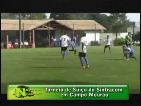 Torneio de Futebol Suíço do SINTRACOM em Campo Mourão