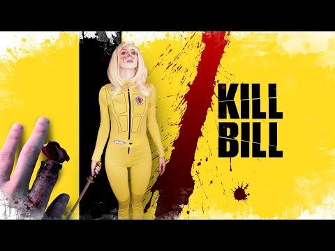Kill Bill look & Makeup + Cut Finger | Disfraz + dedo cortado Beatrix Kiddo |