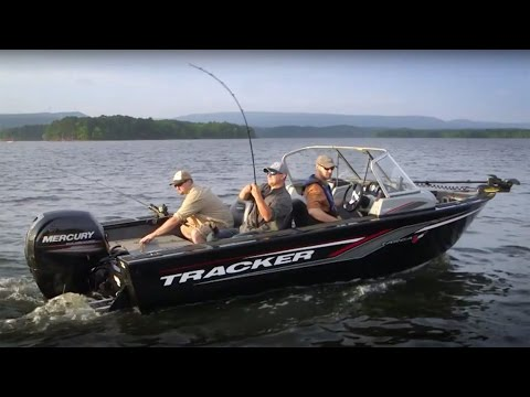 TRACKER Boats: 2017 Targa V-18 WT Deep V Fishing Boat