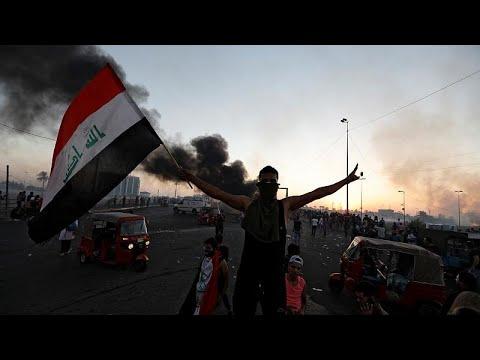 Νέες αιματηρές αντικυβερνητικές διαδηλώσεις στη Βαγδάτη…