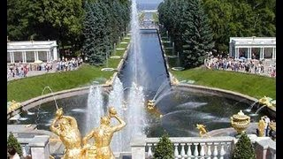 Peterhof Russia  city images : Peterhof (Petrodvorets),St Petersburg-Russia