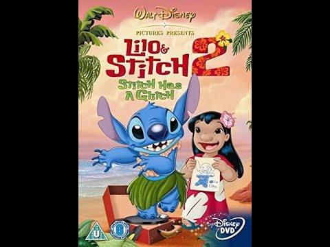 Lilo and Stitch 2: Stitch Has a Glitch UK DVD Menu Walkthrough (2005)