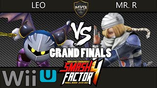 LEO vs Mr. R – Smash Factor 4 – Grand Finals – Smash Wii U