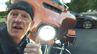 """I tested three of the best LED headlights for Harley-Davidson motorcycles. The Ciro 3D Vision X, the Harley Daymaker, and the Kuryakyn Phase 7. I tested the headlights in a real world environment. The Ciro 3D Vision X LED Headlight came out #1. ****OFFICIAL TESTING, REVIEW, AND INSTALL VIDEO HERE: https://youtu.be/BgJbOGxh9_A?list=PL4h75QClVvqPgMQV7VAyPxoPCzoceb3qZHere are my findings in order, starting with the best:1. Ciro 3D Vision X LED Headlight (WINNER/BEST) $4202. Harley Daymaker Projector LED Headlight (STILL GOOD) $5253. Kuryakyn Phase 7 LED Headlights $270GET A CIRO 3D VISION X LED HEADLIGHT IN OUR OFFICIAL LAW ABIDING BIKER STORE AND SUPPORT US: https://shop.lawabidingbiker.com/collections/lighting-1/products/ciro-3d-vision-x-led-lightingGET A CIRO 3D WIRE ADAPTOR CONVERSION FROM TWO PLUG HALOGEN TO SINGLE PLUG LED: https://shop.lawabidingbiker.com/collections/lighting-1/products/ciro-3d-vision-x-led-lighting?variant=35506333009**The Ciro 3D Vision X comes in both 7"""" and 5.75"""" in black/chrome or plain chrome. Note: A wiring adapter plug is needed if going from stock 2 plug Harley halogen headlamp to a single plug LED headlamps such as the Ciro 3D Vison X or the Kuryakyn Phase 7. It is your responsibility to make sure you get the correct wiring adapter. These wiring adapters basically convert the two plug stock Harley halogen headlight to a single plug LED headlight plug. This information is just for guidance. Adapter Harness for Ciro 3D Vision X LED Headlight (from our Official Store): https://shop.lawabidingbiker.com/collections/lighting-1/products/ciro-3d-vision-x-led-lighting?variant=35506333009Kuryakyn Phase 7 LED Headlamp Adapter Harness For Harley Touring / Trike 2014-2017: http://www.anrdoezrs.net/links/7071126/type/dlg/https://www.revzilla.com/motorcycle/kuryakyn-headlamp-adapter-harness-for-harley-touring-trike-2014-2017KURYAKYN PHASE 7 LED HEADLIGHT AFFILIATE LINKS: REVZILLA: http://bit.ly/2sznGRJJ&P CYCLES: https://goo.gl/ffaVcq**VIDEO OF INTER"""