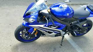 10. 2016 Yamaha YZF-R6 (Pre-owned)