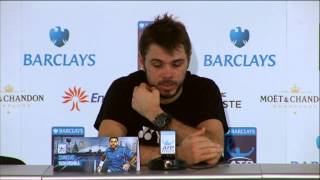 Tennis Highlights, Video - Stanislas Wawrinka Reaches Semis In London Debut