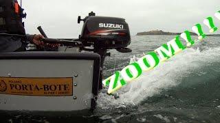 Auf zum Fischen mit dem Porta-Bote