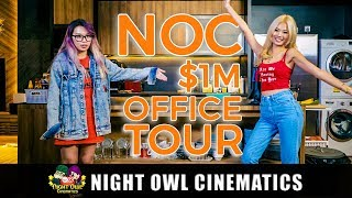 Video NOC's $1M Office Tour! MP3, 3GP, MP4, WEBM, AVI, FLV September 2018