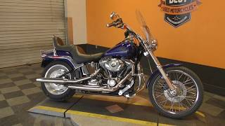 2. 045286   2007 Harley Davidson Softail Custom   FXSTC - Used motorcycles for sale