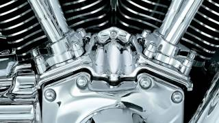 8. Kuryakyn: Road King Video Bike Map - Engine Chrome