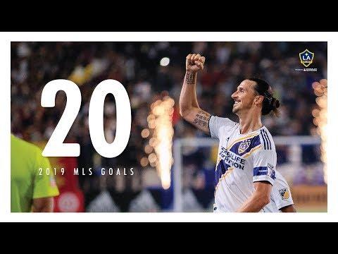 Video: Zlatan Ibrahimović's first 20 goals of LA Galaxy's 2019 season