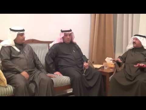 العم خالد صالح العتيقي متحدثا عن ديوان أسرة العتيقي في مقابلة مع قناة نيوز حرب