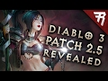 Diablo 3 Patch 2.5 REVEALED! Primal Ancients? Armory! Crafting Material Storage! (Season 10)