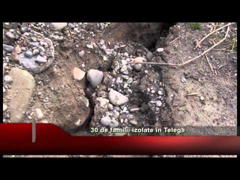 30 de familii izolate în Telega