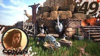 CONAN EXILES (NEW SEASON) - EP49 - Surprise Named Thralls! (Gameplay Video)