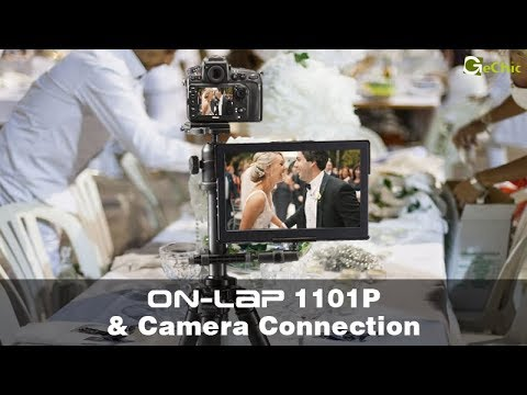 Gechic On-Lap 1101P 1080p Clip-on portable monitor- Tripod Mount Kit installation