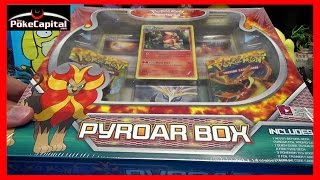Pokemon Cards Pyroar Box Opening by ThePokeCapital