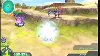 PSP ダンボール戦機 初めからプレイpart11 アルテミス1回戦!