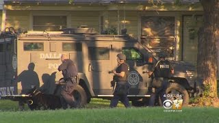 Dallas Police Standoff Ends With 5 People In Custody