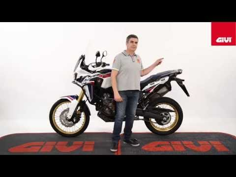 Specific accessories range by GIVI for HONDA CRF1000L AFRICA TWIN