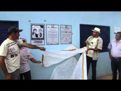 INAUGURAÇÃO BIBLIOTECA POV. BAIXI DOS BELOS - CIDADE DE CURRAL NOVO-PI