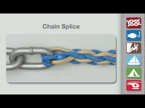 Chain Splice | How to Tie a Chain Splice