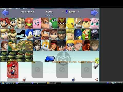 Super Smash Bros Crusade V0.8 Free