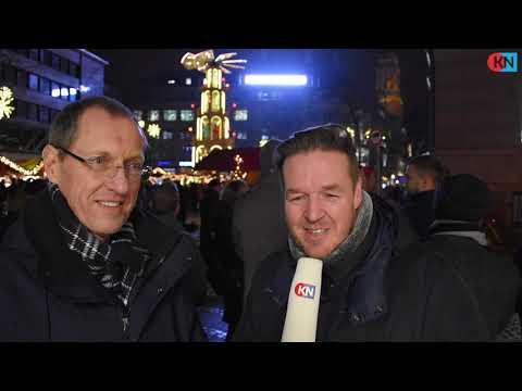 Kieler Nachrichten: Neues Presseband an der KN-Fassade