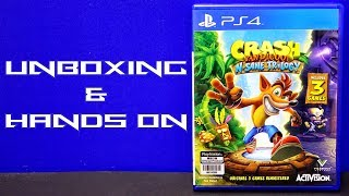Unboxing & Hands On - Crash Bandicoot N. Sane Trilogy (PS4)►Crash Bandicoot N. Sane TrilogyPlayStation Site: http://bit.ly/2pQDdbMOfficial Site: http://bit.ly/2gdLzYD► Unboxing Musichttp://bit.ly/2tHNhtc►Support Pharmit24 by Donating PayPal: http://bit.ly/1LdfDx2►Pharmit24's Other GalaxiesFacebook: http://facebook.com/Pharmit24Google+: https://plus.google.com/+IIPharmit24IITwitter: http://twitter.com/Pharmit24Instagram: http://instagram.com/Pharmit242nd Channel: http://youtube.com/iiPharmitii►Intro Made byhttp://fiverr.com/gundude500►Intro MusicAero Chord - Surface~Pharmit24~