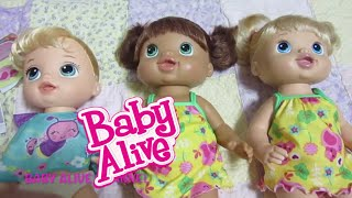 Baby Alive Pretty in Pigtails Brunette Doll + Special request+ Twinkles n' Tinkles