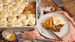 Family Style Sweet Potato Casserole by Laura in the Kitchen