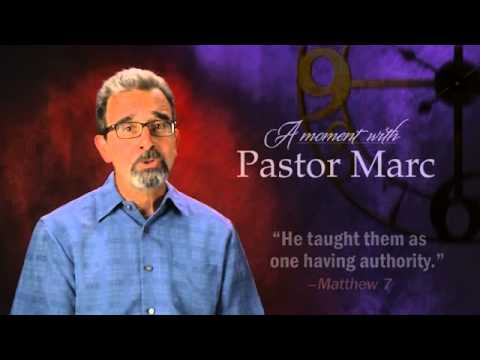 "A Moment with Pastor Marc #21<br /><strong>""Jesus Has The Answers""</strong>"