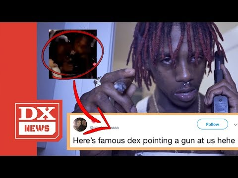 Famous Dex Pulls Gun On College Students After Show Gets Shut Down At UC Irvine's Shocktoberfest
