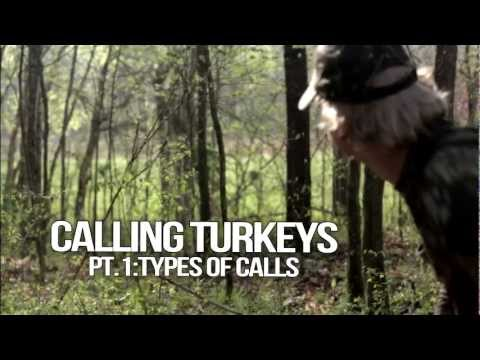 turkeys - In this first of a series on calling turkeys, Jared with Double Trouble walks you through the main turkey call types,as well as a few others.