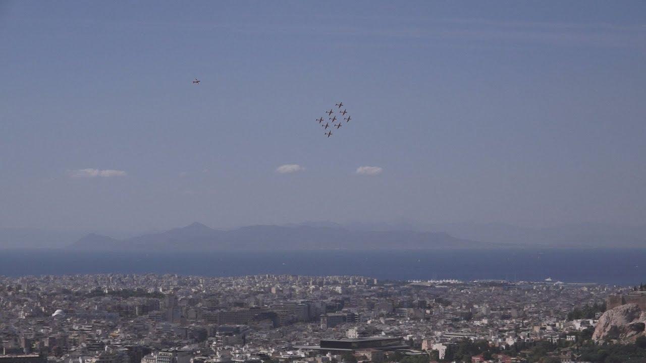 Χαμηλές πτήσεις στον Αττικό ουρανό για το Athens Flying Week