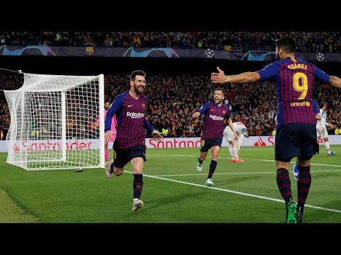 Fußball: Champions League - FC Barcelona besiegt den F ...