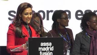 Presentación de 'Chef to Chef' en Madrid Fusión para apadrinar los estudios de jóvenes africanas