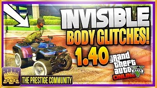"GTA 5 Character Glitches 1.40: ALL WORKING ''INVISIBLE BODY GLITCHES'' GTA 5 Invisible Glitches 1.40 (Xbox One, Ps4, PC) ♛ DIRECTOR -  JoshMods (Help Him Get 10K) ► http://bit.ly/SubToJoshMods ◄►ROAD TO 150K! Join the #PrestigeFam and Subscribe! ✔🔔👆Turn on Post Notifications👆🔔✔ http://bit.ly/SubToPmHD► The Prestige Community WEBSITE - Submit videos, Cheap GFX & More! http://prestigecommunity.weebly.com/ ▬▬▬▬▬▬▬▬▬ஜ۩♛ DOPE GFX, INSTANT GTA CASH & RANK,  COD RECOVERIES AND MORE!  ♛۩ஜ▬▬▬▬▬▬▬▬▬★ For Cheap, Reliable GTA V Accounts and INSTANT GTA Cash + Rank: ​https://goo.gl/PPD27p ★ For Cheap Games, Call of Duty Modded Accounts and Recoveries, In-game items, gaming accessories and more! https://goo.gl/rvjMQK Use code - 'PMHD' for 5% OFF!★ Need Intros or GFX? Buy Cheap Professional Designs from PrestigeStudios! (My team) http://prestigecommunity.weebly.com/gfx-shop.html▬▬▬▬▬▬▬▬▬ஜ۩♛ Join The Prestige Community ♛۩ஜ▬▬▬▬▬▬▬▬▬▼ Want to be Featured on PmHD? ▼Subscribe and Submit your Glitches, Tips and Tricks videos to our website! http://prestigecommunity.weebly.com/submit-your-videos--contact.htmlTwitter: https://twitter.com/PrestigeMontageFB: http://bit.ly/PmHDFBSubscribe: https://www.youtube.com/c/PmHD?sub_confirmation=1♛ Subscribe to our Prestige Channels ♛PmHD (100K+ GTA): https://www.youtube.com/c/PmHD?sub_confirmation=1PrestigeGaming (15K+ Gaming): https://bitly.com/SubPrestigeGamingPrestigeMusick (8K Music): http://www.youtube.com/PrestigeMusick?sub_confirmation=1  PrestigeStudios (GFX/INTROS): http://bit.ly/SubPrestigeStudios PrestigeComedy (22K Entertainment): http://bit.ly/SubPrestigeComedy▬▬▬▬▬▬▬▬▬ஜ۩♛ INTRO SONG ♛۩ஜ▬▬▬▬▬▬▬▬▬My Music channel: https://www.youtube.com/user/PrestigeMusick  Intro song - https://www.youtube.com/watch?v=ZeLeAgQ_DtoOutro Song - https://www.youtube.com/watch?v=BbZP3zCLBrM▬▬▬▬▬▬▬▬▬ஜ۩♛ 10 Popular GTA 5 Online GunRunning DLC Glitches Not to Miss! ♛۩ஜ▬▬▬▬▬▬▬▬▬► GTA 5 Online TOP 10 GLITCHES 1.40! (NEW) 10 BEST WORKING GLITCHES GTA 5 1.40 (Top 10 Glitches 1.40) http://youtu.be/NeCoPZe9SKk► GTA 5 Online TOP 10 CLOTHING GLITCHES 1.40! NEW BEST 10 GUNRUNNING Outfit Glitches! Top 10 Glitches 1.40 http://youtu.be/w-VCsr8F7gM► GTA 5 Online TOP 5 GLITCHES 1.40! (NEW) FREE $30,000,000 GLITCH, 100% INVISIBLE BODY, RARE CLOTHING! http://youtu.be/-g17pseXp7E ► GTA 5 Online TOP 5 CLOTHING GLITCHES 1.40! *NEW* DIRECTOR MODE GLITCH 1.40, RARE JOGGERS, INVISIBLE ARMS! http://youtu.be/7tBluIaowgk► FINALLY! GTA 5 Online ''XBOX ONE'' & PS4 DIRECTOR MODE GLITCH 1.40! SOLO GTA 5 ''Money Glitch 1.40'' http://youtu.be/r-YbkDu1r-k► GTA 5 CHECKERED OUTFIT GLITCH 1.40! (NEW) SOLO 'CHECKERBOARD OUTFIT' TUTORIAL GTA 5 Online 1.40 https://www.youtube.com/watch?v=63XipThzvAY► OMG! NEW $10,000,000 /HR ''SOLO'' MONEY GLITCH! GTA 5 Online 1.40 *SOLO* ''UNLIMITED MONEY GLITCH'' http://youtu.be/8Ev84bLKHYE► GTA 5 RP GLITCH 1.40! *SOLO* ''UNLIMITED RP GLITCH 1.40'' Level Up FAST AND EASY 1.40 (PS4/Xbox /PC) http://youtu.be/edYOw7g-XAs► GTA 5 GUNRUNNING GLITCHES 1.40! *NEW* MILITARY ''MODDED OUTFIT GLITCH 1.40'' (Clothing Glitches 1.40) http://youtu.be/dtMbuEDpvP8► GTA 5 Online TOP 3 MODDED OUTFITS 1.40! GUNRUNNING Modded Outfit Glitches Using Clothing Glitches! https://www.youtube.com/watch?v=jjUQeyxYwp0▬▬▬▬▬▬▬▬▬ஜ۩♛ A Personal Note From Xav ♛۩ஜ▬▬▬▬▬▬▬▬▬ Hey #PrestigeFam! Thanks for watching guys! Help us reach 150,000 Subscribers by rating the videos and leaving feedback! Subscribe if you're new here for the best and latest Gaming Glitches, tips and tricks! Stay tuned, Stay Prestige ✌️✌️#PrestigeFam #PrestigeCommunity-Xav, PmHD♛ Fair Use Disclaimer:♛ COPYRIGHT DISCLAIMER UNDER SECTION 107 OF THE COPYRIGHT ACT 1976 - Copyright Disclaimer Under Section 107 of the Copyright Act 1976, allowance is made for ""fair use"" for purposes such as criticism, comment, news reporting, teaching, scholarship, and research. Fair use is a use permitted by copyright statute that might otherwise be infringing. Non-profit, educational or personal use tips the balance in favor of fair useGTA 5 Invisible Glitches 1.40,GTA 5 Online Invisible Glitches 1.40,gta 5 invisible body 1.40,gta 5 invisible body parts 1.40,gta 5 invisible body glitch 1.40,gta 5 invisible body glitches 1.40,gta 5 invisible body part glitch 1.40,gta 5 invisible body part glitches 1.40,gta 5 all invisible body glitches,gta 5 fully invisible body 1.40,gta 5 invisible glitch 1.40,gta 5 fully invisible glitch 1.40,GTA 5 Invisible torso glitch 1.40,gta 5 invisible arms glitch 1.40,PmHD"