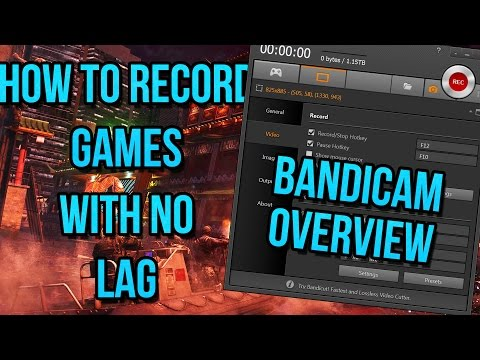 Bandicam tutorial