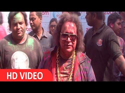 Bappi Lahiri At Zoom Holi Party