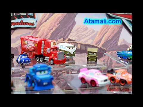 CARS Movie Toys for 2009 w/Trev the Train