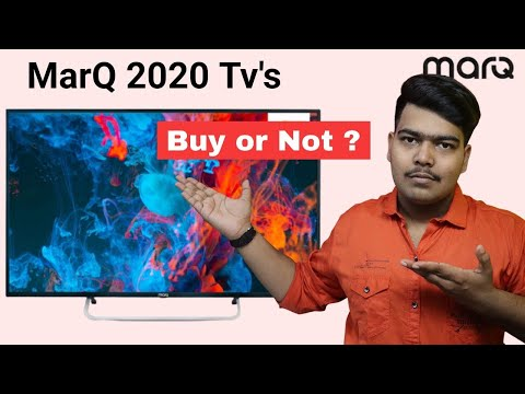 MarQ 2020 Smart Tv's  📺 Buy or Not?? || My opinion 🤔🤔