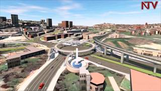 Museveni launches Kampala flyover project