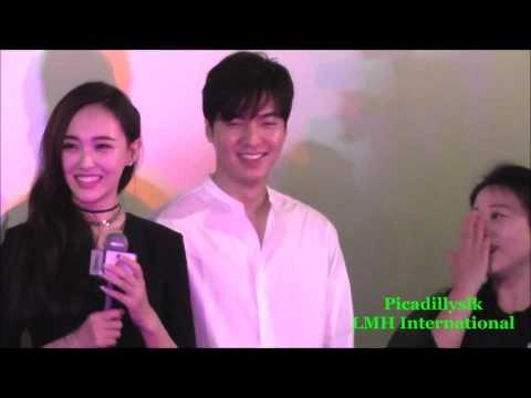 Lee Min Ho in Hong Kong cinema Bounty Hunters movie greeting 20160723