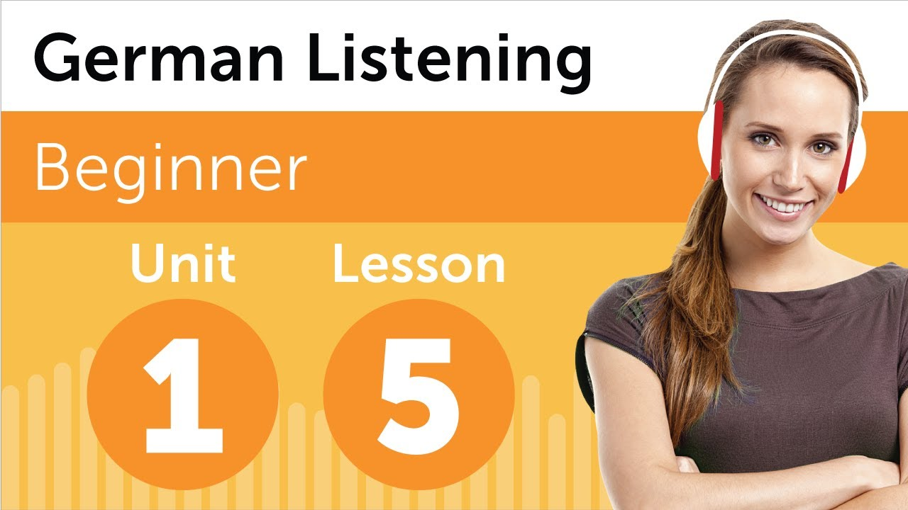 German Listening Practice – Discussing a New Design in German