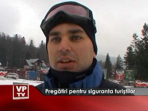 Pregătiri pentru siguranţa turiştilor