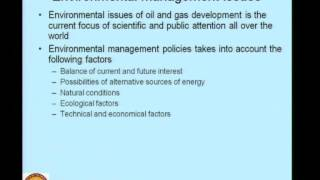 Mod-02 Lec-04 Chemicals And Wastes From Offshore And Oil Industry