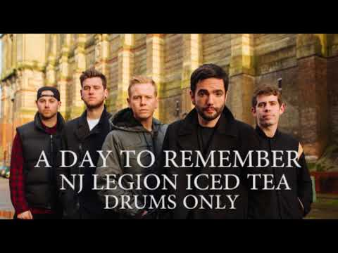 A Day To Remember NJ Legion Iced Tea Drums Only