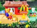 Rare MCDONALD'S Fisher Price Restaurant Play Place with DANIEL Tiger Toys!